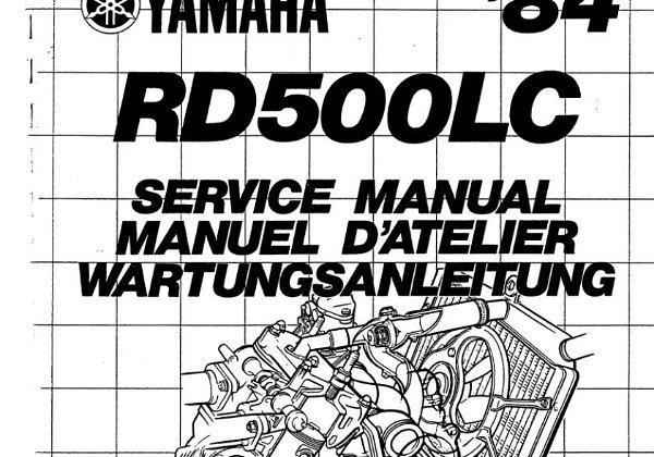 RZ500 52X Official Workshop Manual